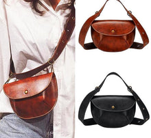 Multi-use Women's Leather Fanny Pack Luxury Brand