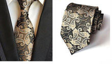 "Hot Novelty 3.1"" Classic Men's Ties woven 100% Silk Colorful Paisley"