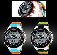 Fashion Digital Military Quartz Women's Sport Watch