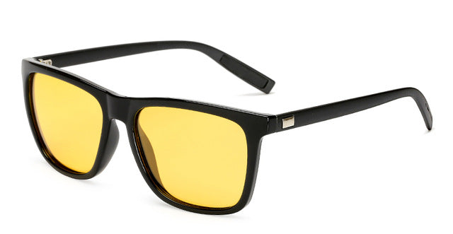 Men's High Quality Driving Sunglasses Polarized Yellow Lens