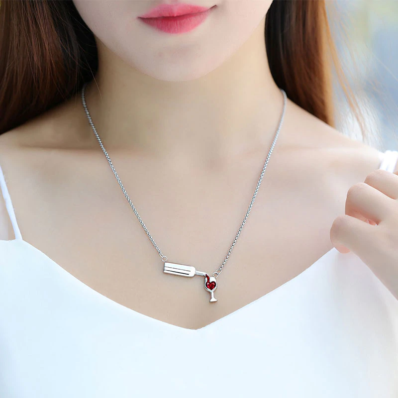 Love Wine - Wine Lover Necklace
