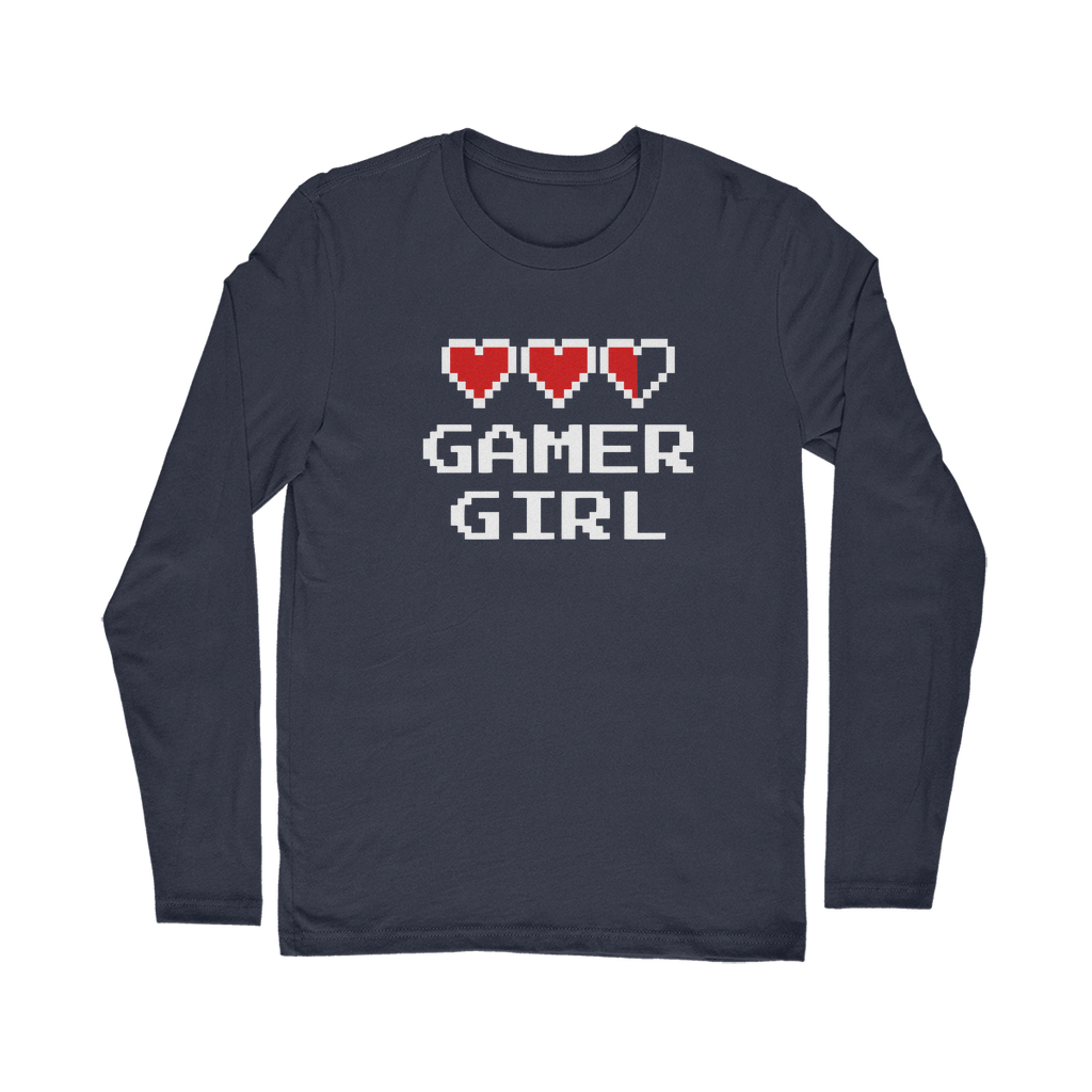 Gamer Girl Video Game Classic Long Sleeve T-Shirt