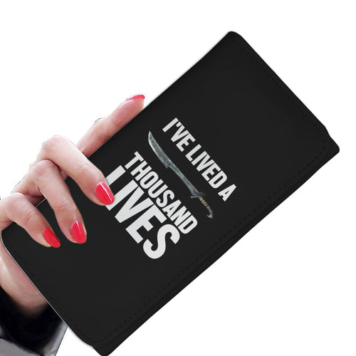 I've Lived A Thousand Lives Fantasy RPG Video Gamer Womens Wallet