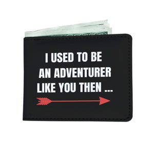 I Used To Be An Adventurer Like You Fantasy RPG Video Gamer Wallet I Used To Be An Adventurer Like You Fantasy RPG Video Gamer Wallet