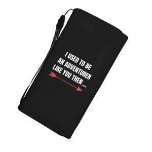 I Used To Be An Adventurer Like You Fantasy RPG Video Gamer Womens Wallet I Used To Be An Adventurer Like You Fantasy RPG Video Gamer Womens Wallet