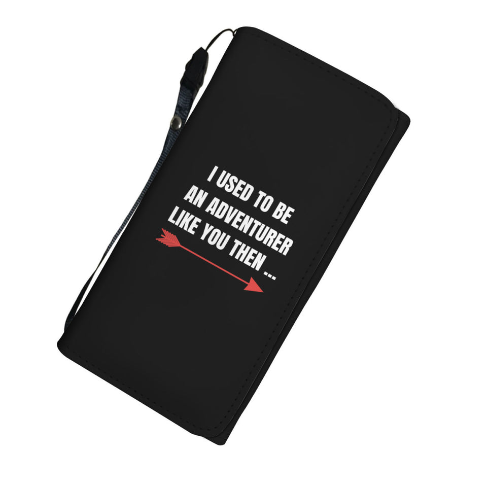 I Used To Be An Adventurer Like You Fantasy RPG Video Gamer Womens Wallet