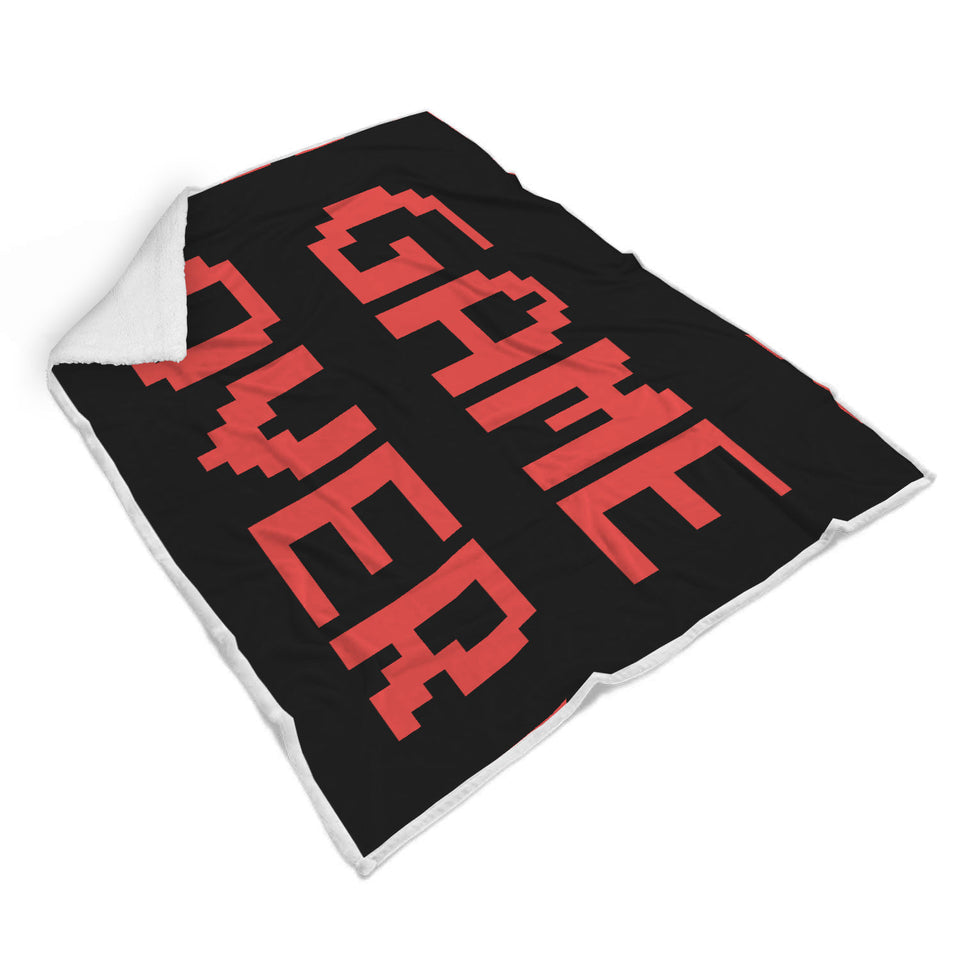 Game Over - Video Gamer Blanket