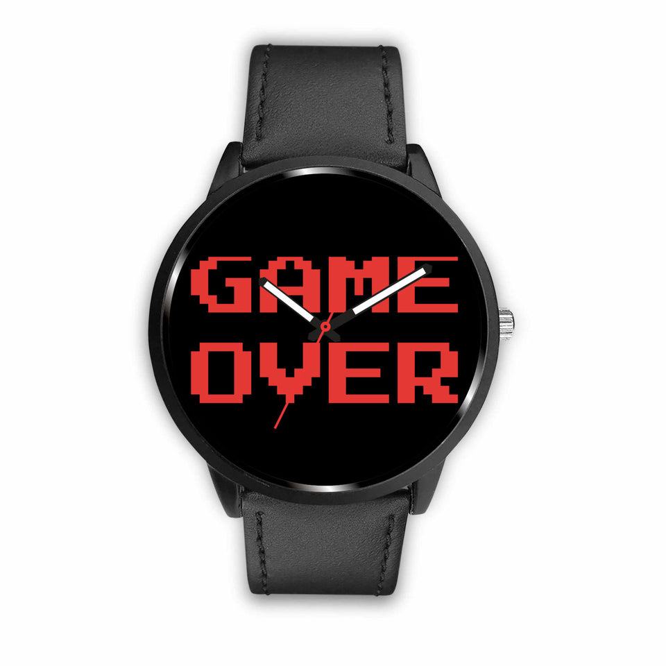 Game Over Classic Video Gamer Watch