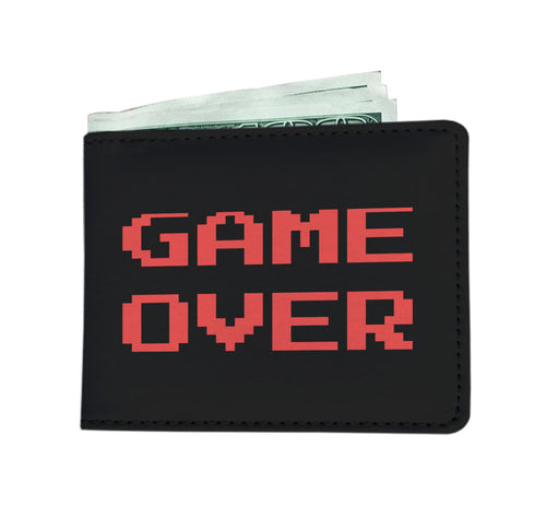 Game Over Video Gamer Wallet