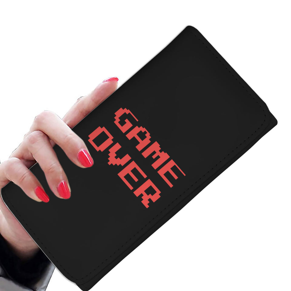 Game Over Video Gamer Womens Wallet