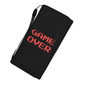Game Over Video Gamer Womens Wallet Game Over Video Gamer Womens Wallet