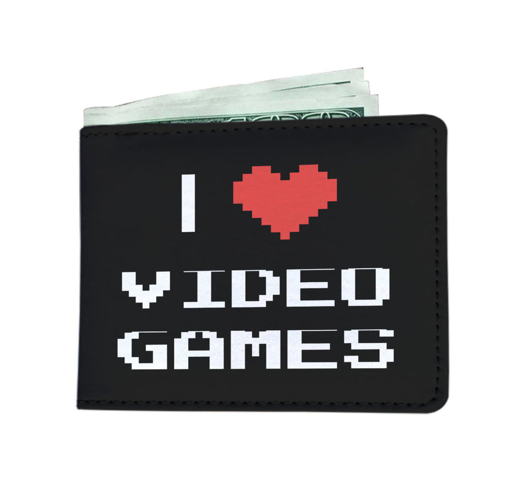 I Love Video Games - Video Gamer Wallet