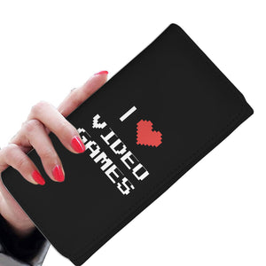 I Love Video Games - Video Gamer Womens Wallet I Love Video Games - Video Gamer Womens Wallet