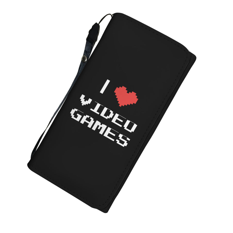 I Love Video Games - Video Gamer Womens Wallet