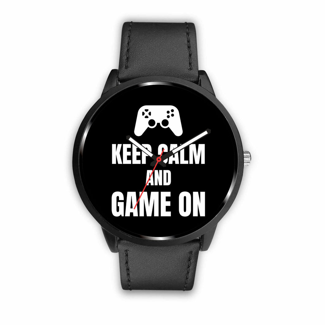 Keep Calm And Game On Video Game Watch