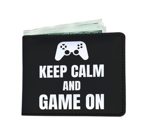 Keep Calm And Game On Blanket Video Gamer Wallet Keep Calm And Game On Blanket Video Gamer Wallet