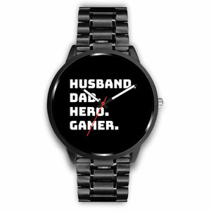 Husband Dad Hero Gamer Video Game Watch Husband Dad Hero Gamer Video Game Watch
