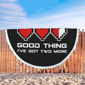 Video Games Ruined My Life Good Thing I've Got Two More Beach Blanket Video Games Ruined My Life Good Thing I've Got Two More Beach Blanket