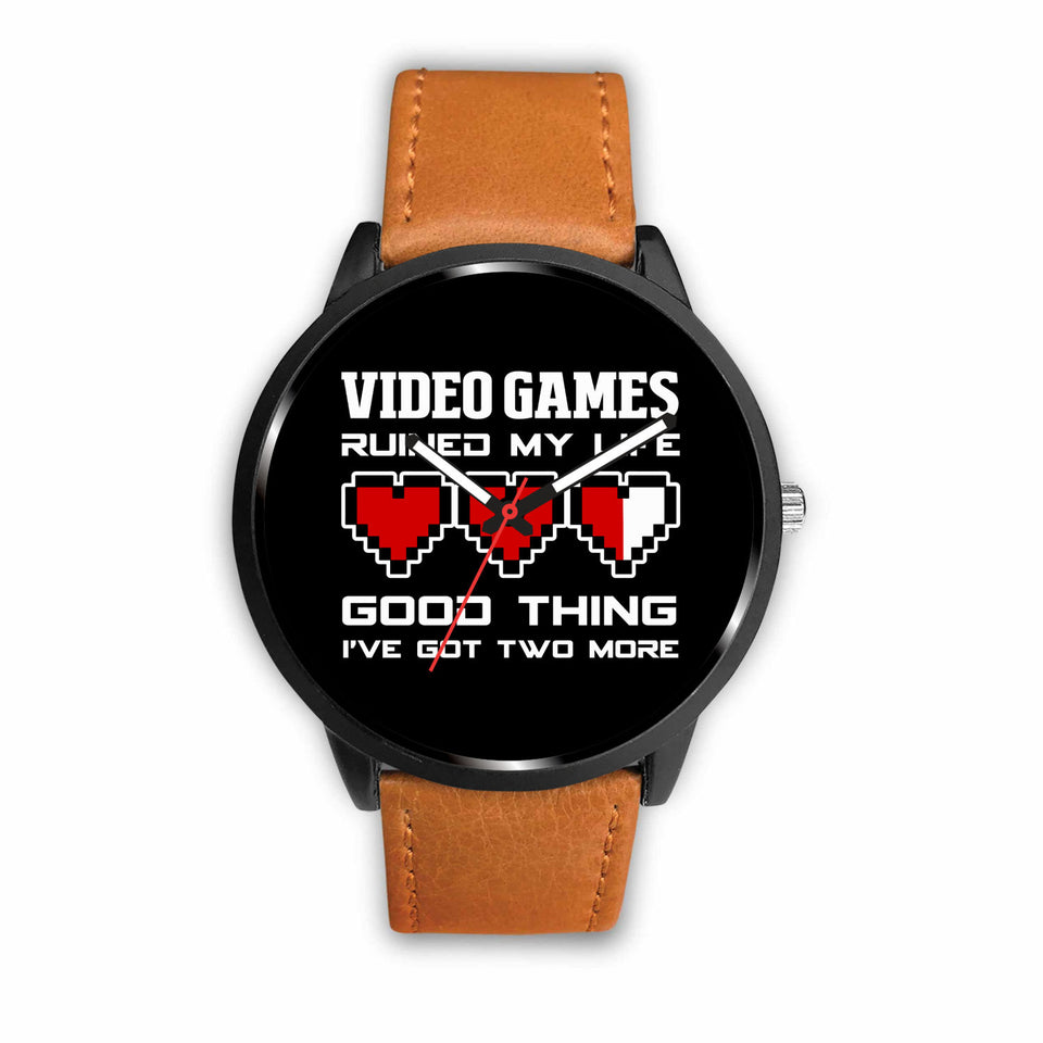 Video Games Ruined My Life Good Thing I've Got Two More Video Gamer Watch