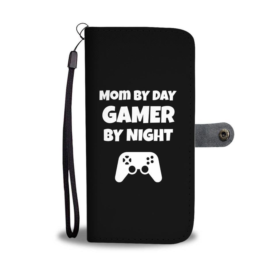 Mom By Day Gamer By Night Video Gamer Phone Case