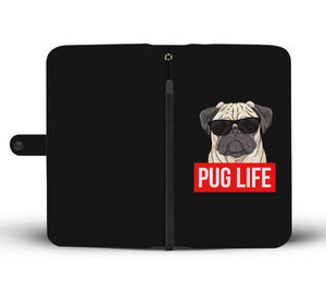 Pug Life - Pug Lovers Wallet Phone Case Image 1