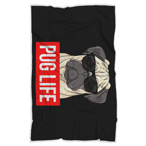 Pug Life - Pug Lovers Blanket Pug Life - Pug Lovers Blanket
