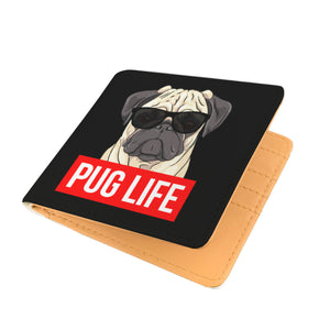 Pug Life - Pug Lovers Mens Wallet Pug Life - Pug Lovers Mens Wallet