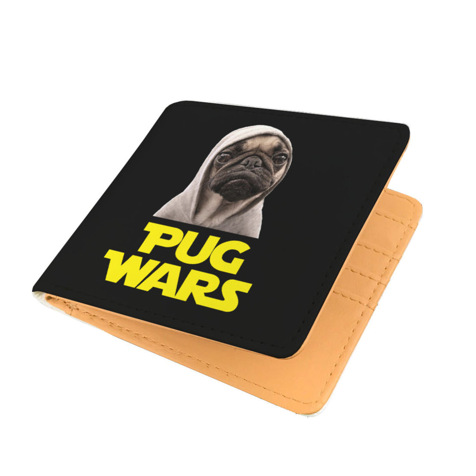 Pug Wars - Pug Lovers Mens Wallet