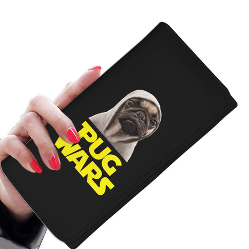 Pug Wars - Pug Lovers Womens Wallet