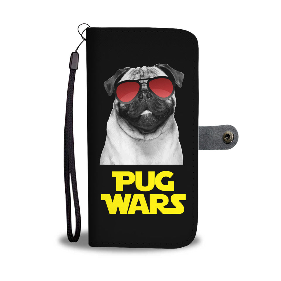 Pug Wars Return Of The Pug Wallet Phone Case