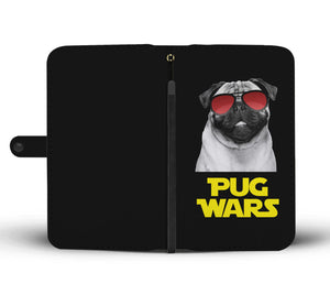 Pug Wars Return Of The Pug Wallet Phone Case Pug Wars Return Of The Pug Wallet Phone Case