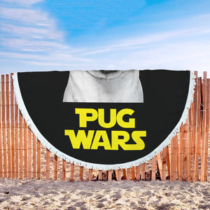 Pug Wars Return Of The Pug Beach Blanket Pug Wars Return Of The Pug Beach Blanket