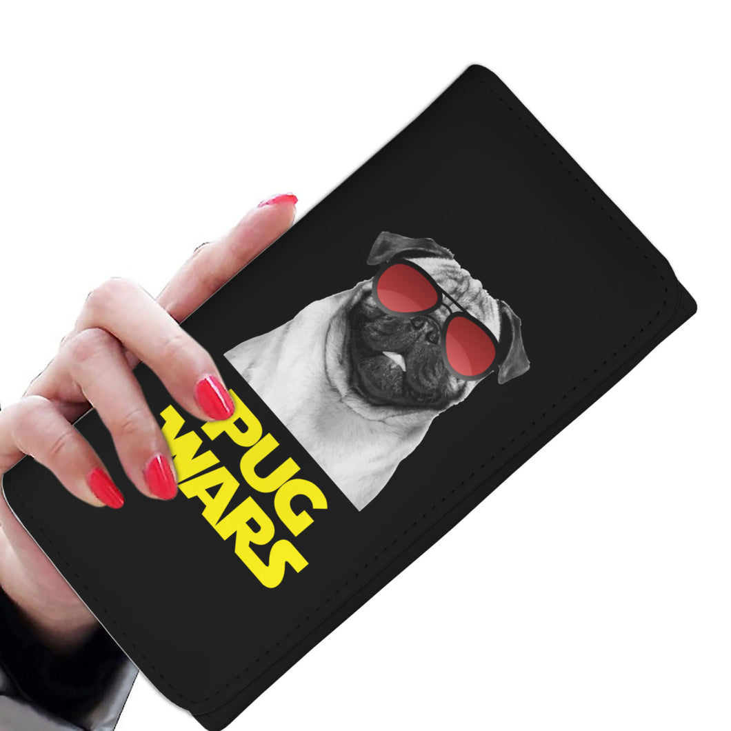 Pug Wars Return Of The Pug Womens Wallet