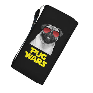 Pug Wars Return Of The Pug Womens Wallet Pug Wars Return Of The Pug Womens Wallet