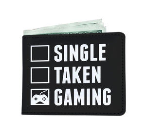 Single Taken Gaming - Video Gamer Mens Wallet