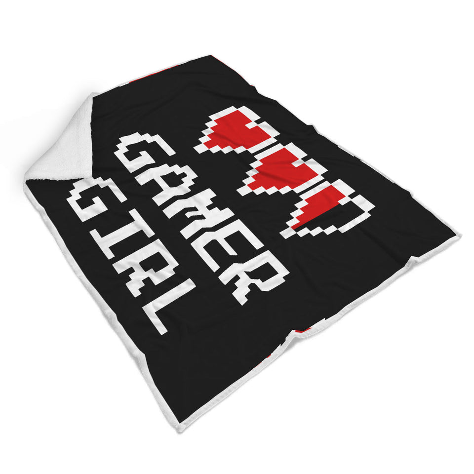 Gamer Girl - Video Game Blanket