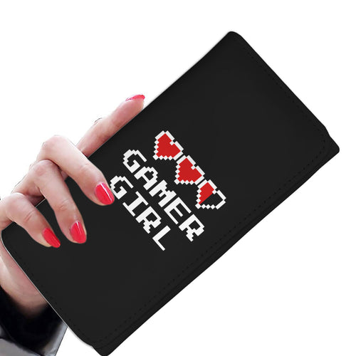 Gamer Girl - Video Game Womens Wallet