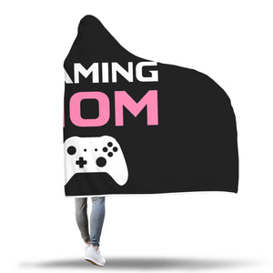 Gaming Mom - Video Game Mom Hooded Blanket Gaming Mom - Video Game Mom Hooded Blanket