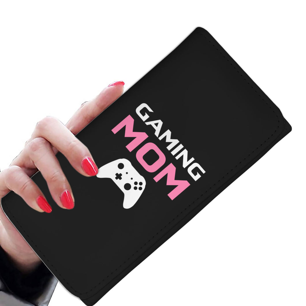 Gaming Mom - Video Game Mom Womens Wallet