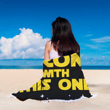 The Sarcasm Is Strong With This One Beach Blanket The Sarcasm Is Strong With This One Beach Blanket