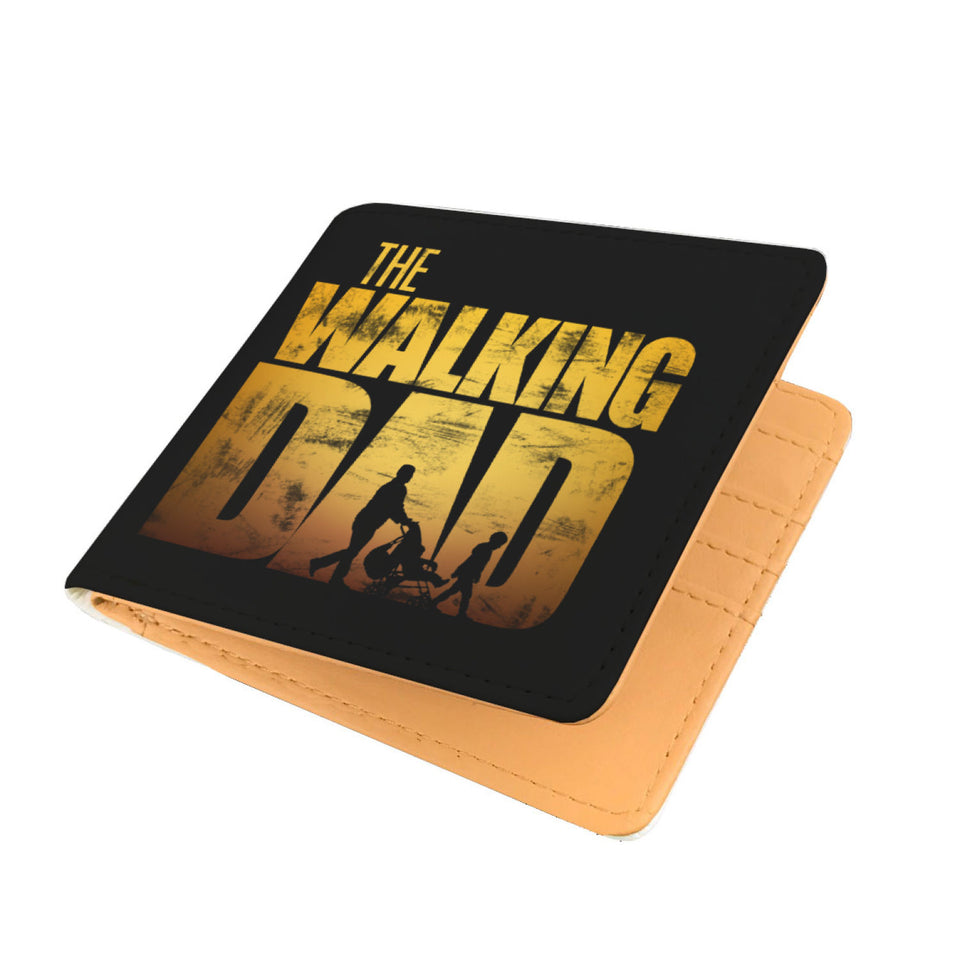 The Walking Dad - Dad Mens Wallet