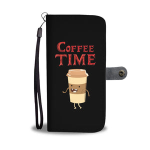 Coffee Time - Coffee Lovers Phone Wallet Case
