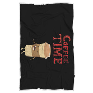 Coffee Time - Coffee Lovers Blanket Coffee Time - Coffee Lovers Blanket