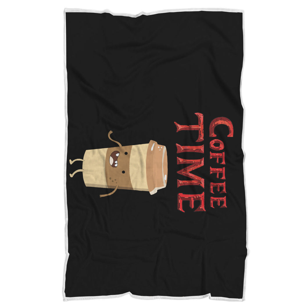 Coffee Time - Coffee Lovers Blanket