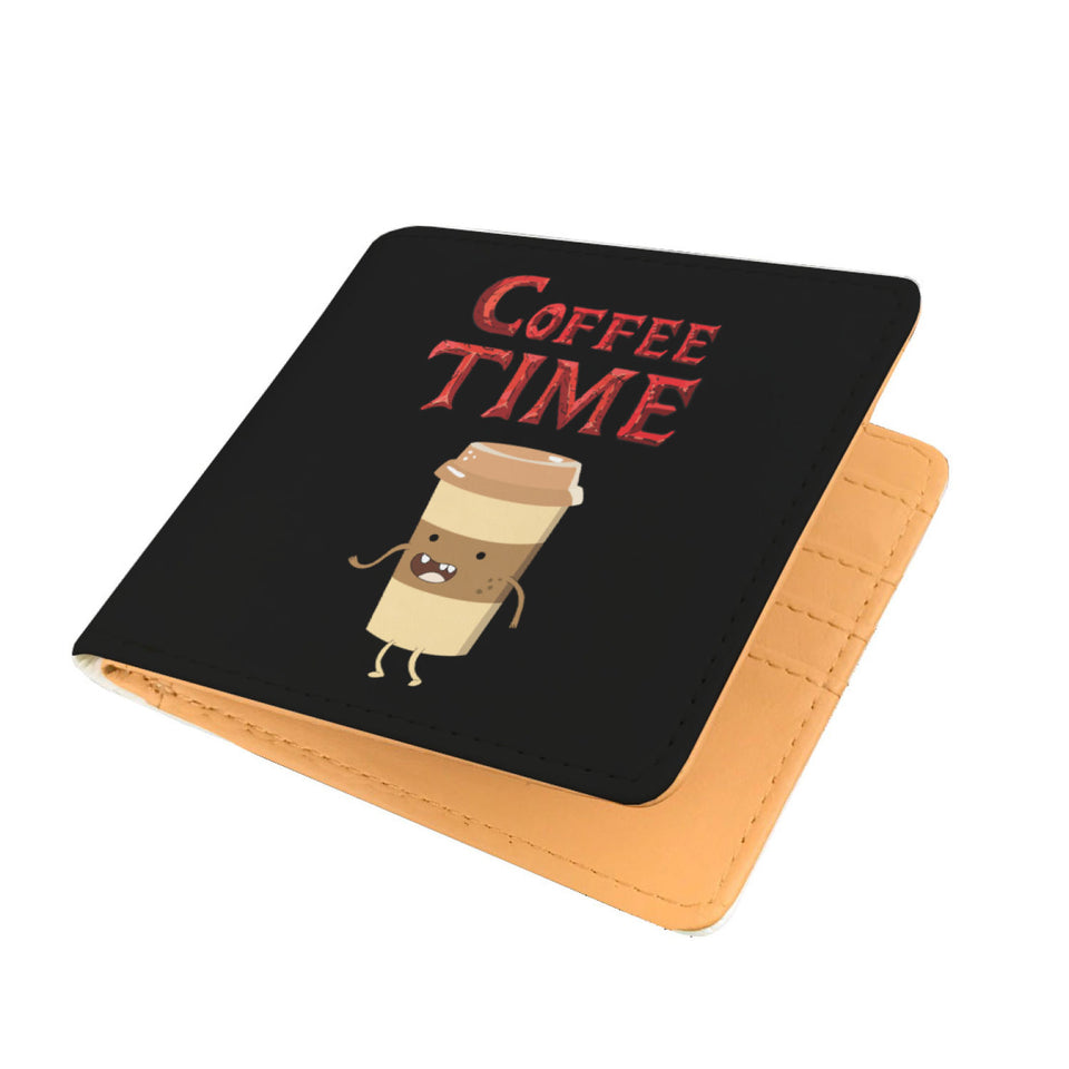 Coffee Time - Coffee Lovers Mens Wallet