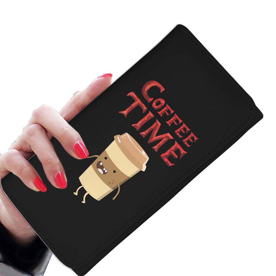 Coffee Time - Coffee Lovers Womens Wallet