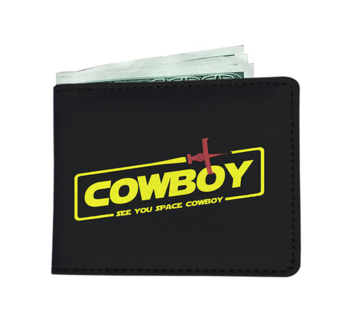 Cowboy A Space Cowboy Story Mens Wallet