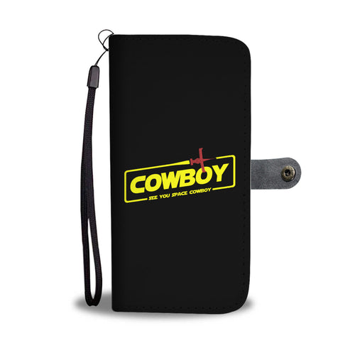 Cowboy A Space Cowboy Story Phone Wallet Case