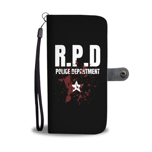 RPD Police Department Phone Wallet Case