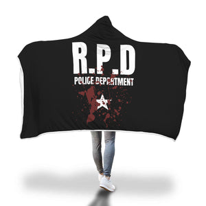 RPD Police Department Hooded Blanket
